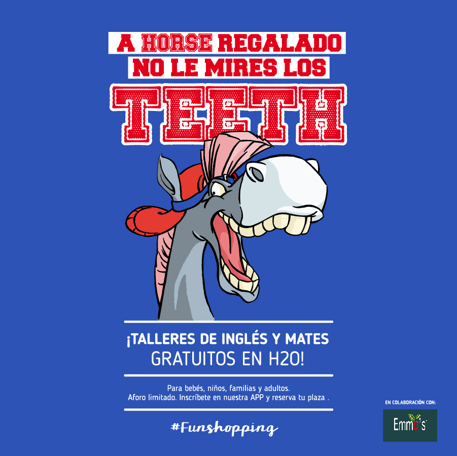 A horse regalado no le mires los teeth